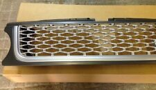 GRILLE AUTO B STYLE GREY BEZEL SILVER MESH TO FIT 2010 -2013 RANGE ROVER SPORT