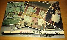 FOTOBUSTA RUSSIA SOTTO INCHIESTA-MARCELLINI-CORTESE-LISIZIAN-KRISMAN ..