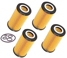 4 Oil Filter Mercedes Benz C ,CL ,CLK ,E ,ML ,S ,SL Class # 1121800009