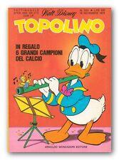 TOPOLINO 1251 - 18 novembre 1979 Inserto Mattel Barbie + Figurine Supercalcio