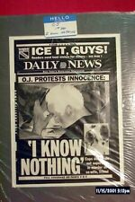 """O J SIMPSON ORIGINAL NY DAILY NEWS NEGATIVES OF HIS """" TRAIL OF THE CENTURY """""""