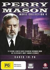 Perry Mason Movie Collection 4: Cases 19-26 - Raymond Burr DVD NEW