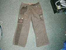 "Next Loose Jeans Waist 35"" Leg 29"" Faded Brown Mens Jeans"