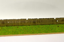 LASER CUT OLD WOODEN LINESIDE FENCING OO SCALE 1:76 MODEL RAILWAY - LX077-OO
