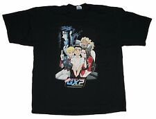 Tenchi Muyo Galaxy Police Transporter Japanese Anime Black Men's T-Shirt Size XL