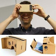Cardboard 3D VR Virtual Reality Headset Movie Games Glasses for Google Android