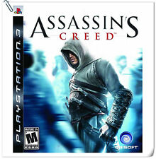 PS3 Assassin's Creed SONY PlayStation Games Action Ubisoft