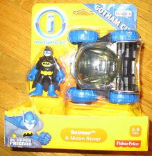 Imaginext DC Super Friends BATMAN & MOON ROVER Gotham City Exclusive