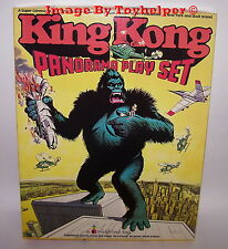 King Kong Panorama Colorforms Adventure Play Set Unused Vintage