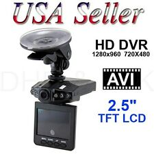 "New 2.5"" HD Car LED DVR Road Dash Video Camera Drivie Recorder Camcorder LC"