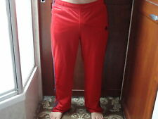 Mens Abercrombie A&F Track Gym Issue Reversable Mesh Pants Red Navy Medium M