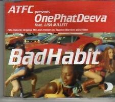 (CL59) One Phat Deeva ft Lisa Millett, Bad Habit - 2000 CD