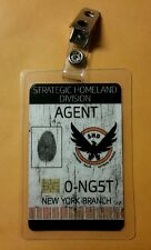 The Division  ID Badge -Strategic Homeland Division Agent cosplay prop costume