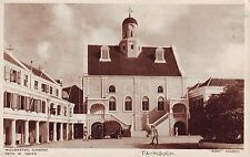 Curaçao Curacao Willemstad - Fort Church Dutch Guards Old Bus old sepia postcard