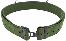 Mens British Army 58 Pattern Belt Replica Extremely Tough Canvas Webbing Hiking