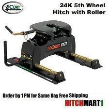 24K CURT Q24 5TH FIFTH WHEEL TRAILER HITCH with ROLLER   #16546