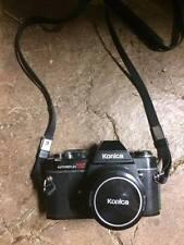 Konica Autoreflex TC 400mm includes telescopic lens, flash, camera bag