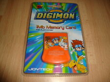 MEMORY CARD MEMORIA DIGIMON PARA LA SONY PLAY STATION 1 PS1 NUEVA EN BLISTER
