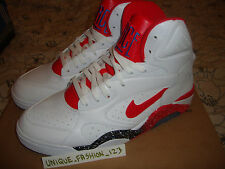 2013 NIKE AIR FORCE 180 MID WHITE RED US 10 UK 9 44  537330-101 DAVID ROBINSON
