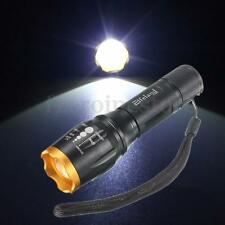 Zoomable 5000LM XM-L T6 LED 18650 AAA Flashlight Torch Lamp Light 5-Modes Zoom