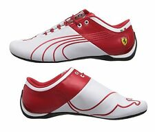 New PUMA FERRARI 14 US Future Cat M1 white/red leather shoes sneakers driving