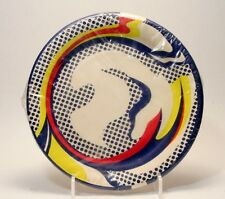 Roy Lichtenstein Bert Stern Package of 10 Paper Plates - In Wrapping -1969 MINT