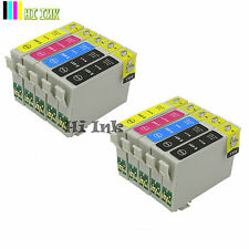 10Pack 69 T069 Ink for Epson WF40 310 1300 Stylus NX400 NX410 C120 CX8400 CX7500