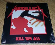 "METALLICA  ""Kill 'Em All""  First Remaster   NEW   (CD, 1983/2016)"