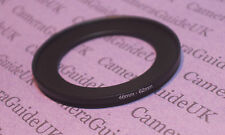 46mm to 62mm Male-Female Stepping Step Up Filter Ring Adapter 46mm-62mm UK