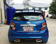 2012 - 2015 Fit Chevrolet Sonic Rear Wing Spoiler For 5 doors Hatchback No Paint