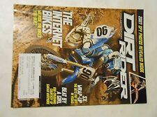 AUGUST 2006 DIRT RIDER MAGAZINE,INTERNET BIKES,SX WRAP-UP,WHITMORE,07 SPY PHOTOS