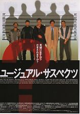 The Usual Suspects - Original Japanese Chirashi Mini Poster - Kevin Spacey