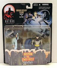 * NEW BATMAN ADVEN. / Batman vs Two-Face / Action Fig. Kenner 1998 FACT SEALED *