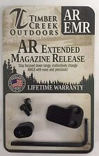TIMBER CREEK OUTDOORS - CERAKOTE BLACK - EXTENDED MAGAZINE RELEASE - EMR