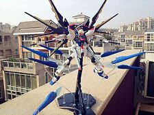 Built MG 1/100 seed destiny Strike Freedom Gundam full burst ver on decals Model