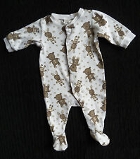 Baby clothes UNISEX BOY GIRL 0-3m H&M babygrow bears/buttons COMBINE POST C SHOP