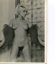 Photo femme nue nu vintage année 60 argentique (A08258) Livraison gratuite