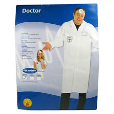 Doctor Fancy Dress Halloween Costume Outfit Mens Adult Hospital Party Medium