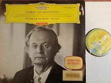 DG 138944 RED STEREO TULIPS LABEL BEETHOVEN PIANO SONATAS WILHELM KEMPFF
