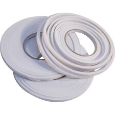 2 x 5m FOAM DRAUGHT EXCLUDER WEATHER SEAL STRIP INSULATION DOOR WINDOW