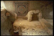 122097 Antigua Mosaico de Massada Piso A4 Foto Impresión
