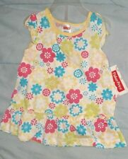 NEW FISHER PRICE  OUTFIT INFANT GIRLS 0-3  MO'S- flowers