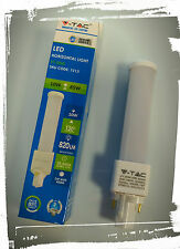 Lampada LED V-Tac PL G24 P2 10W 4500°K Natural White