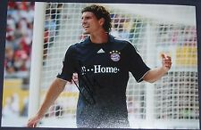 Mario Gomez signed photo (Bayern Munich, Germany)