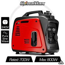 NEW GenaMax 700W Generator PureSine Inverter Portable Petrol Silent Camping