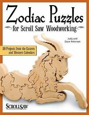 Zodiac Puzzles for Scroll Saw Woodworking: 30 Projects from the Eastern and West