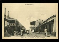 South Africa France Madagascar MAJUNGA Ancienne rue de la Residence c1920s? PPC