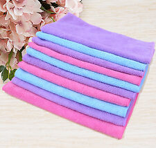 10pcs a lot Microfiber Towel Lint/Streak-Free For Windows Cleaning/Car Details