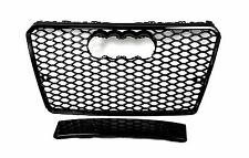 FRONT GRILL Look RS7 BLACK FOR AUDI A7 4G 2011+ 14 Wabengrill Grille Stoßstange