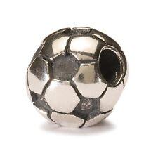 AUTHENTIC TROLLBEAD SILVER SOCCER BALL 11519 PALLONE DA CALCIO